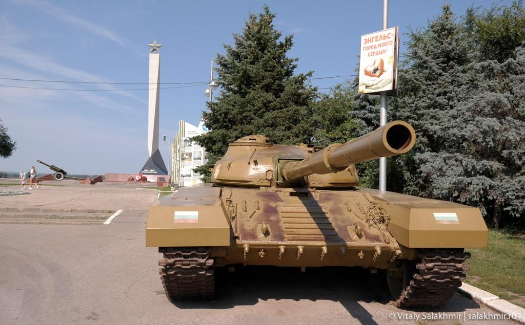 Танк в Покровском парке, Энгельс 2020