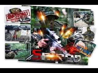 Снайпер охота на бандитов,жёсткая расправа с бандюгами в лесу.Sniper War Battle