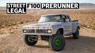 This '73 Ford F-100 is a Street-Legal Luxury Prerunner